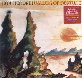 Jimi Hendrix Valleys Of Neptune Vinyl Single